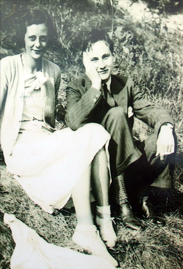 Betty Roche (18) and Dow Dowley (21) 1934